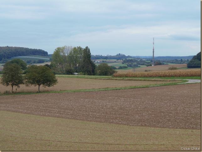 Herbstlandschaft zwischen Jöhlingen und Wössingen