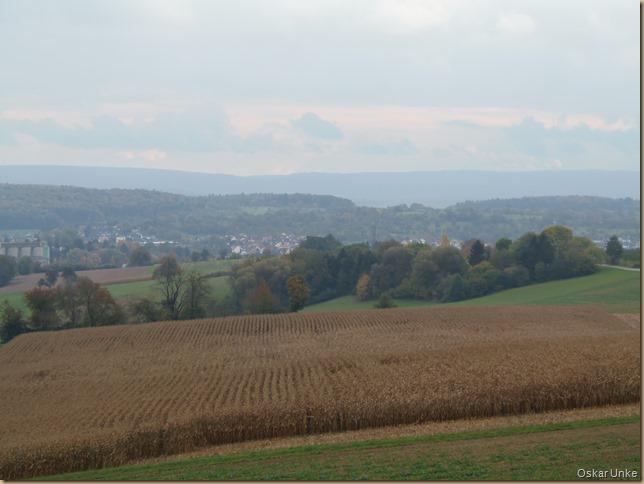 Blick zurück auf Wössingen