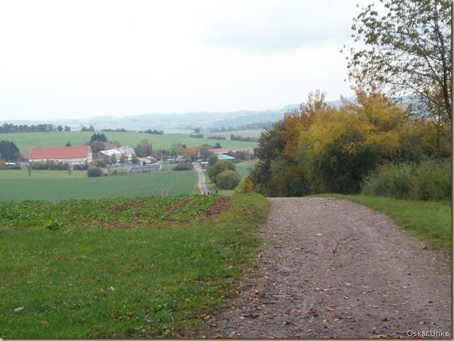 Blick Richtung Gondelsheim
