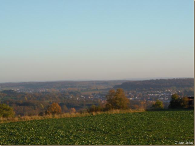Blick in Richtung Walzbachtal