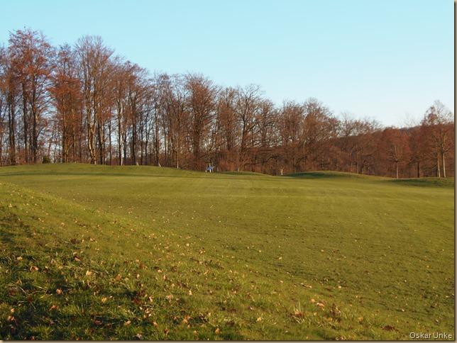Golfplatz in östliche Richtung