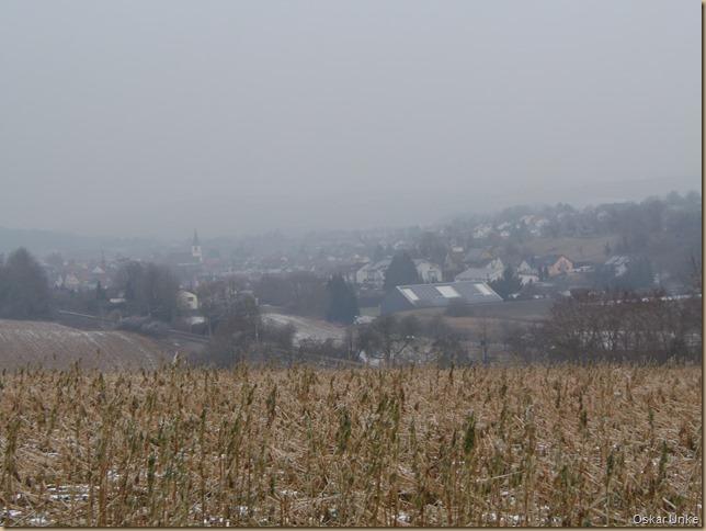 Jöhlingen im Nebel