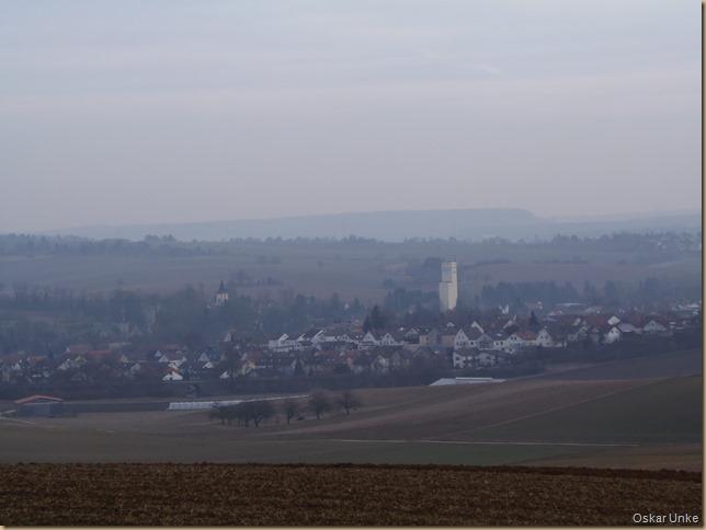 Blick auf Gondelsheim