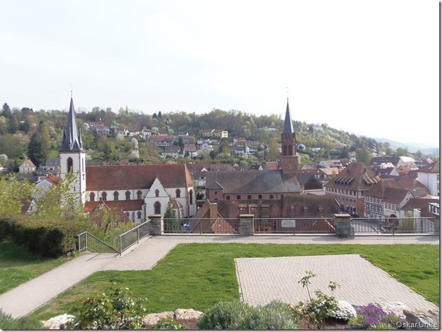 Blick Auf Weingartener Kirchen