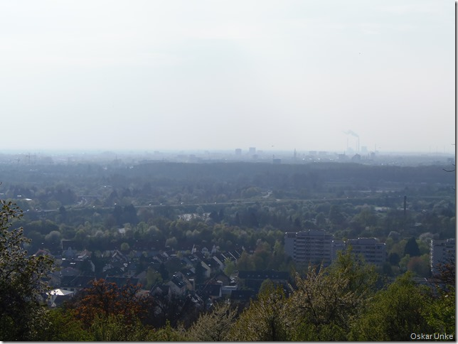 Blick in Richtung Karlsruhe