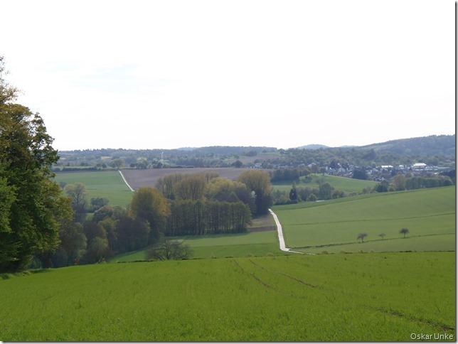 Blick in Richtung Wössingen