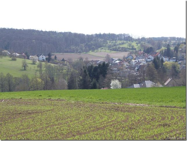 Nochmals Blick auf Wössingen