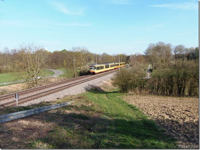 An der Wössinger Stadtbahnlinie