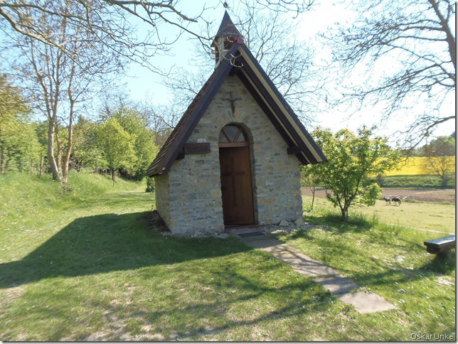 kleine Kapelle bei Obergrombach