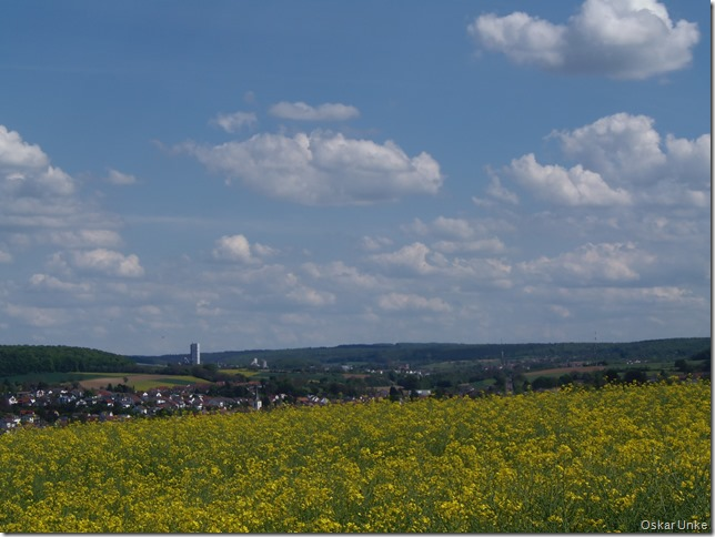 Blick zurück nach Walzbachtal