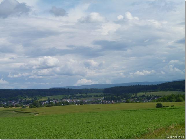 Blick auf Walzbachtal-Jöhlingen