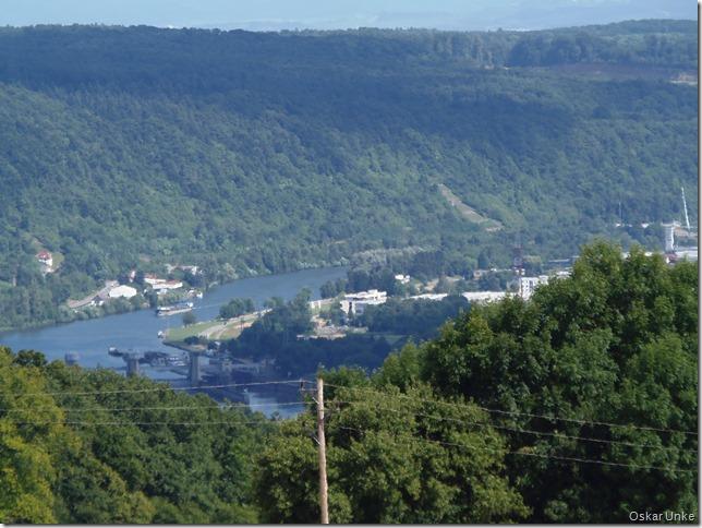 Blick nach Neckarzimmern und Haßmersheim