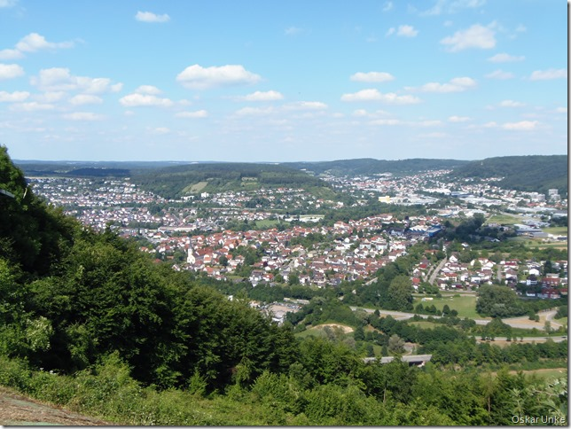 Blick ins Neckartal