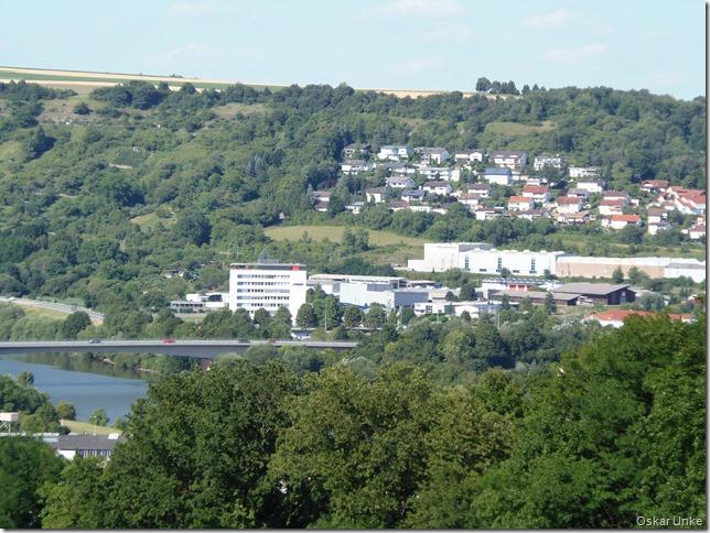 Blick auf Neckarbrücke