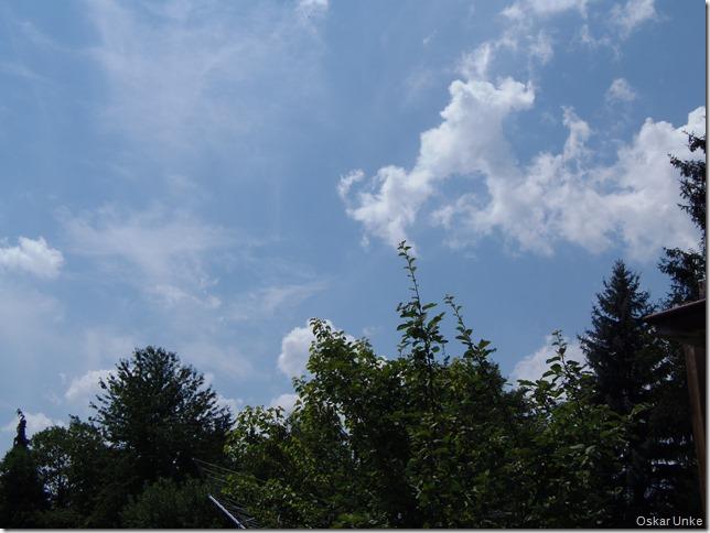 Will wieder blauen Himmel haben