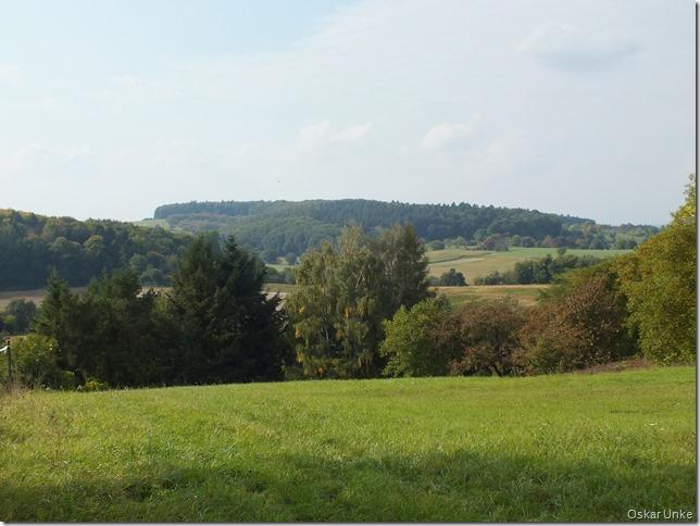 Herbstlandschaft bei Obergrombach