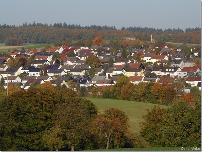 Blick auf Diedesheim