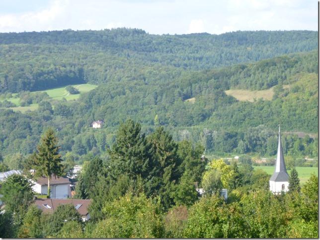 Blick auf Obrigheim