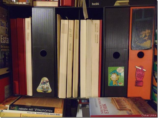 Bücherwelt im Bunker