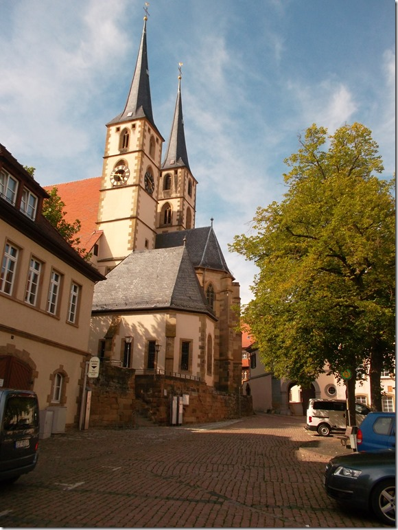 Kirche in Bad Wimpfen