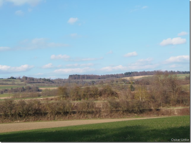 Landschaft im März