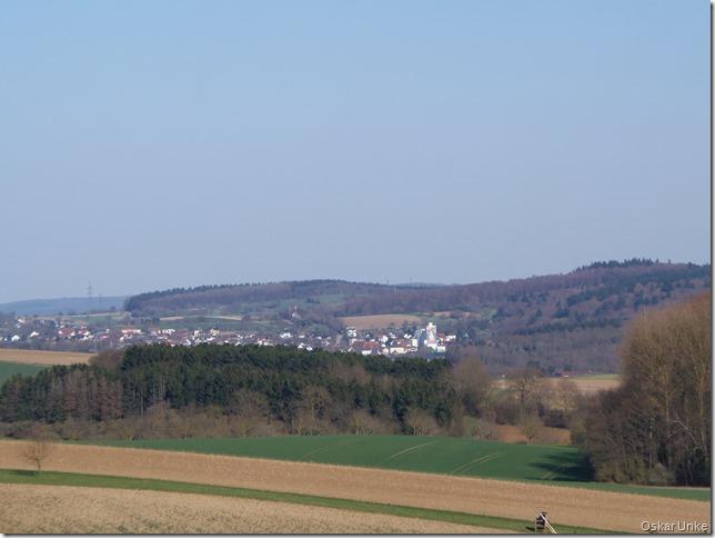 Blick nach Neibsheim