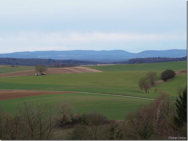 Blick zum Schwarzwald