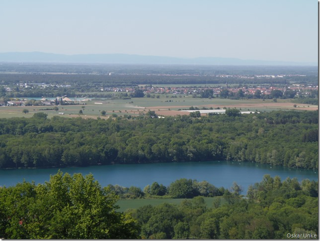 Baggersee in Untergrombach