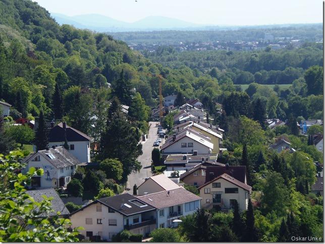 Ausblick Richtung Weingarten