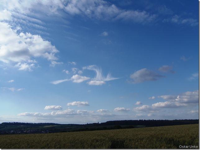 Wolken ziehn