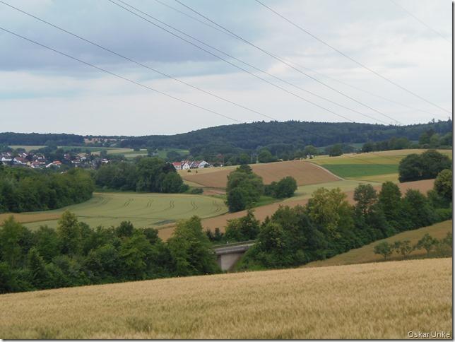 Blick nach Wössingen