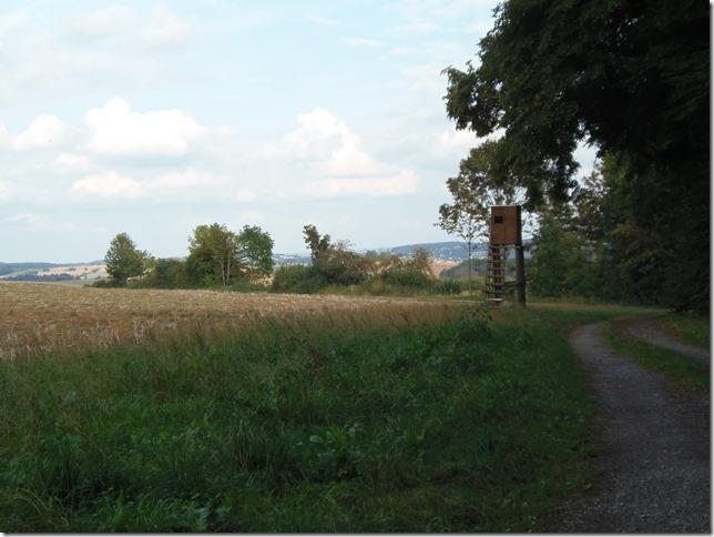 Idyllische Landschaft und Wege
