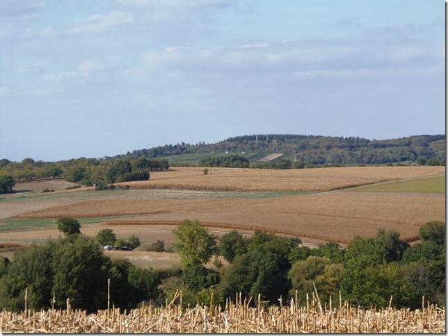 Landschaft zwischen Jöhlingen und Weingarten