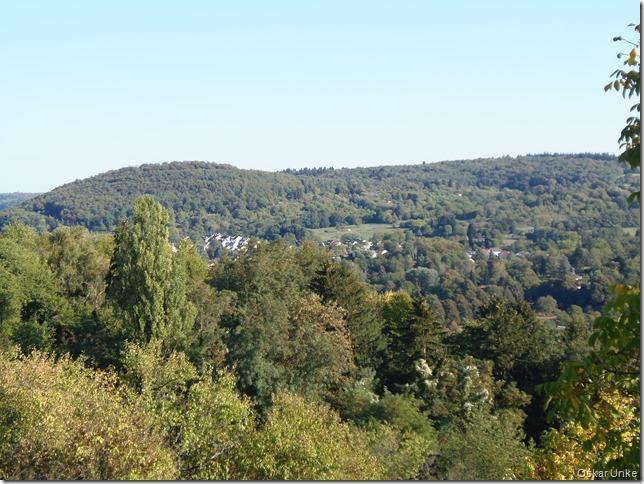 Blick in Richtung Berghausen