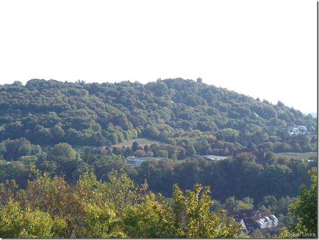 Blick auf den Durlacher Turmberg